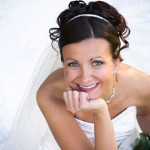 nevesta s poročnim nakitom