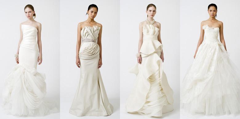poročne obleke Vera Wang