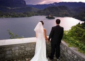 poroka na gradu