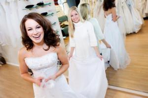 nakup poročne obleke